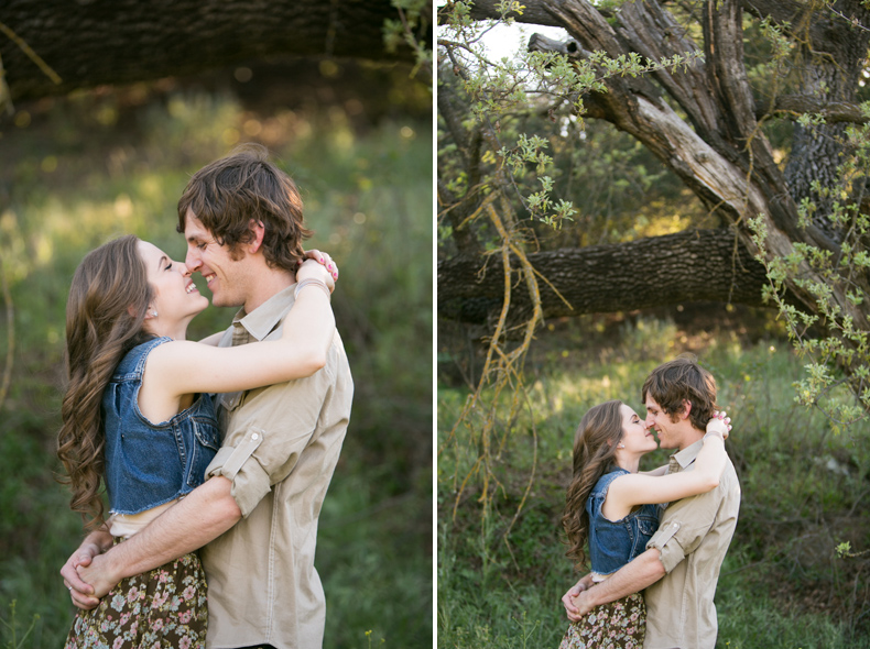 Marie + Nick: Yellow Flower Field Engagement