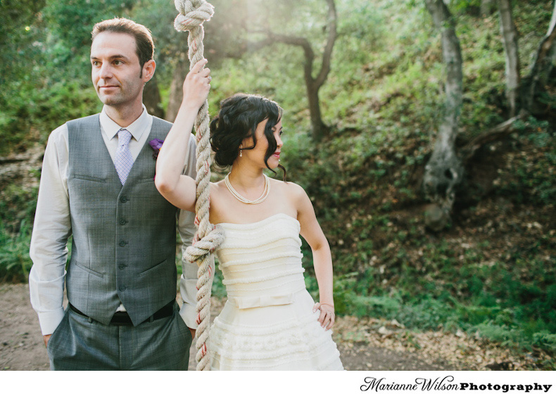 Wiggy Ranch Wedding: Christine + Brandon