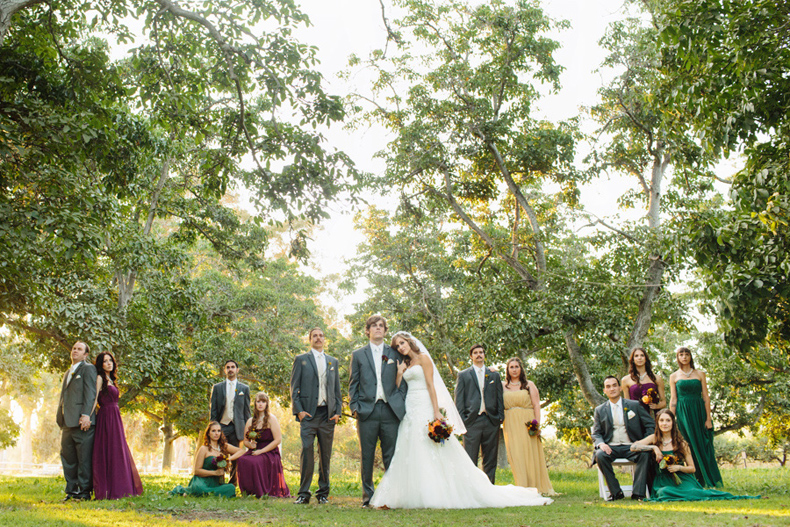 Marie + Nick: Walnut Grove Wedding Party | Marianne Wilson Photography