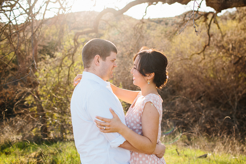 Southern California Engagement Session: Lisa + Bobby