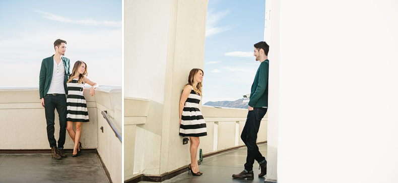 Griffith Observatory Engagement : Alannah + Evan