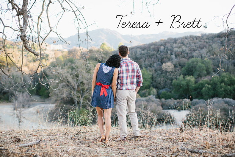 Teresa + Brett Engagement Photographs