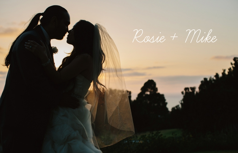 Rancho Palos Verdes Wedding Photography: Rosie + Mike