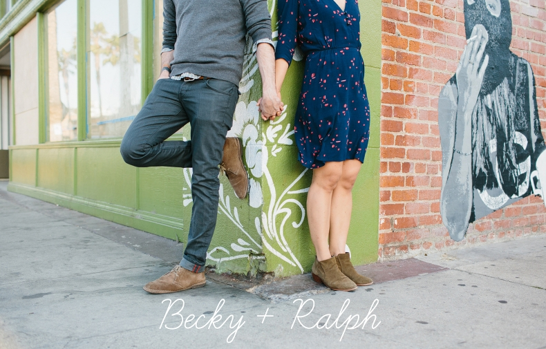 Venice Beach Engagement Session: Becky + Ralph