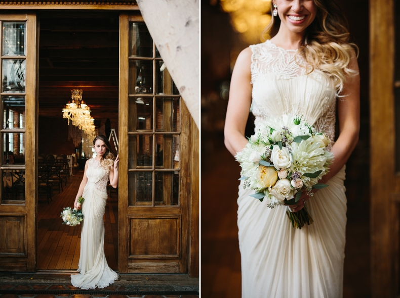 These are photos of Alannah and her flowers.