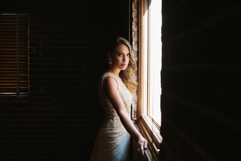This is a photo of Alannah in some nice soft window light.