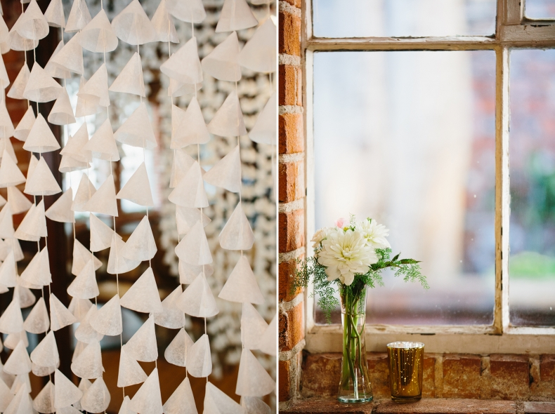 These are some detail photos from Alannah and Evan
