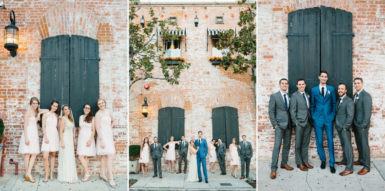These are more wedding party photos.