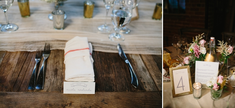 These are detail photos from Alannah and Evan