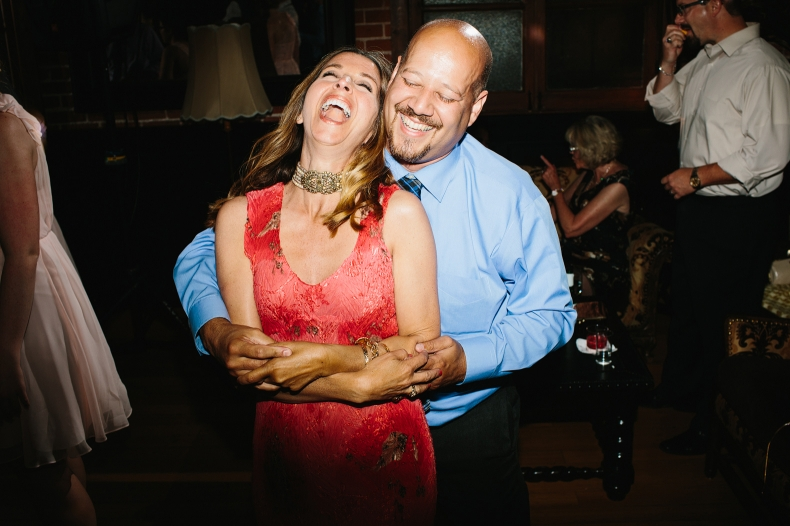 This couple looks like they are having a great time.