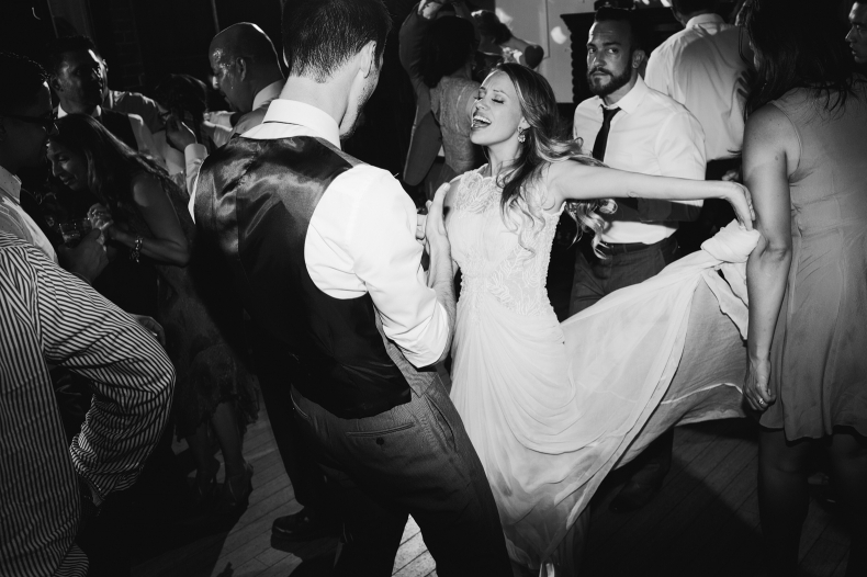 We think that Alannah and Evan probably had a great time at their Carondelet House wedding!