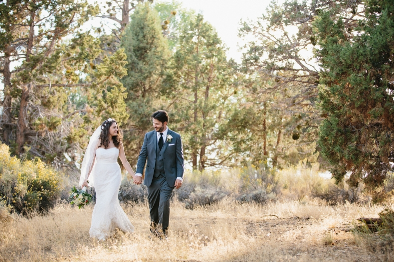 Big Bear Lake wedding photography.