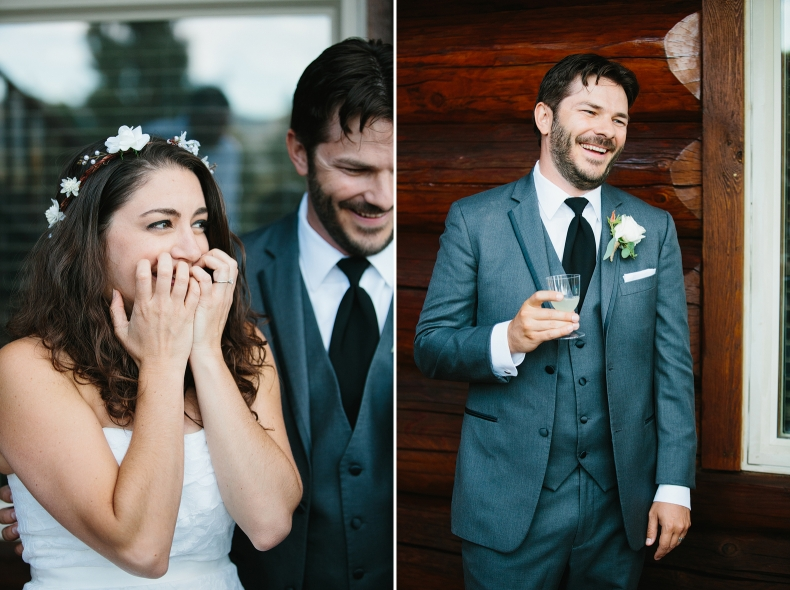 There was so much laughter and awesomeness at this wedding!