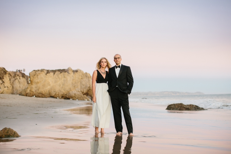 Glamerous Beach and Hills Engagement: Sidney + Steve