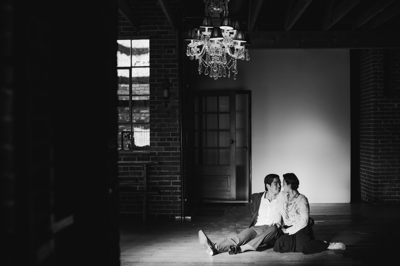 Carondelet House Engagement Photos: Juselle + Claude
