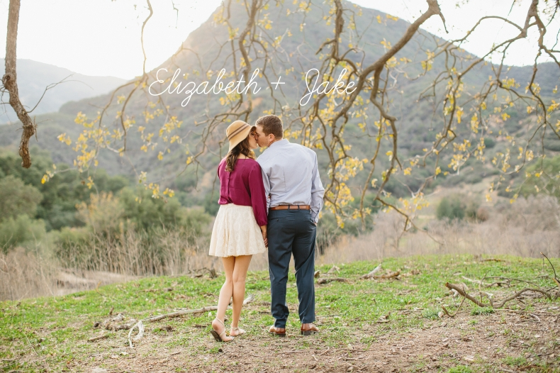 Romantic Malibu Engagement: Elizabeth + Jake