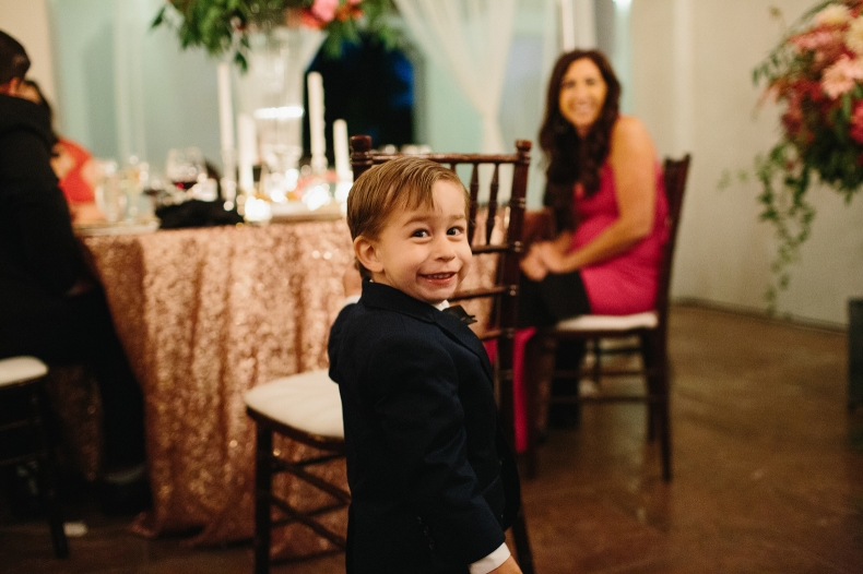How cute is this ring bearer?