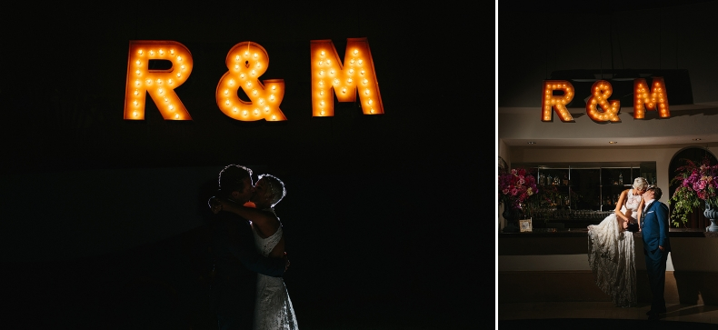 We got to do night photos at this wedding!