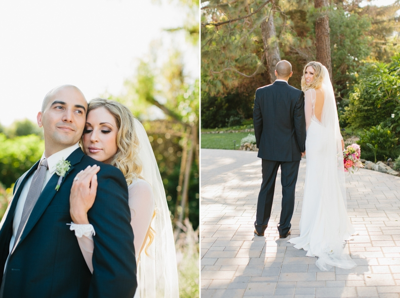 Here are romantic photos of Sidney and Steve after their ceremony.