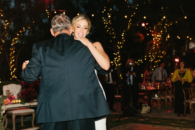 This is a photo of the bride dancing with her dad.