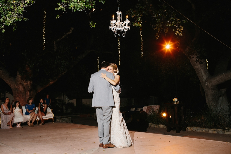 This is Kelly and Chris dancing their first dance as a married couple!
