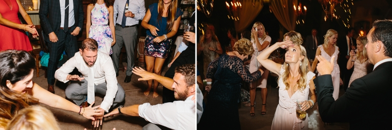 Blake dancing at the reception.