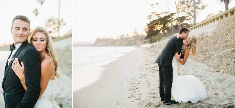 Sweet photos of the couple at the beach.