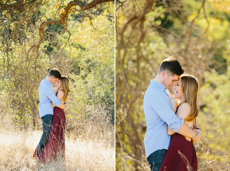 Cute photos of the couple standing together.