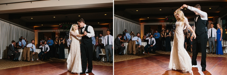 Sweet photos of the first dance.