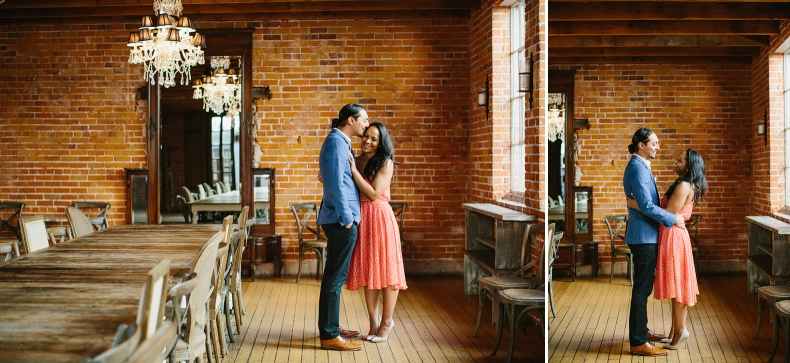Adorable photos of the couple.