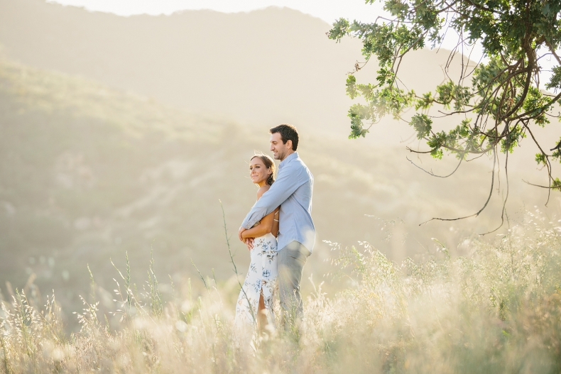 romantic Southern california engagement photographer