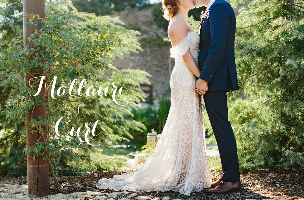 Serendipity Gardens Wedding: Mallauri + Curt - Marianne Wilson ...